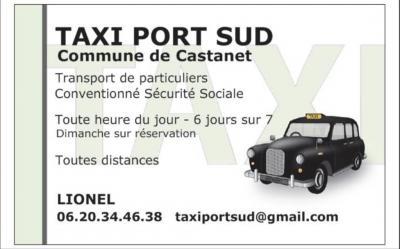 Taxi Port-sud - Location d'automobiles avec chauffeur - Castanet-Tolosan
