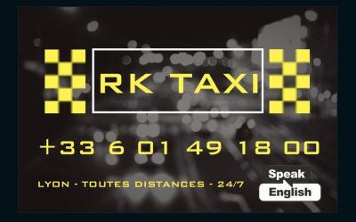 Rk Taxi Lyon Aéroport - Taxi - Vénissieux