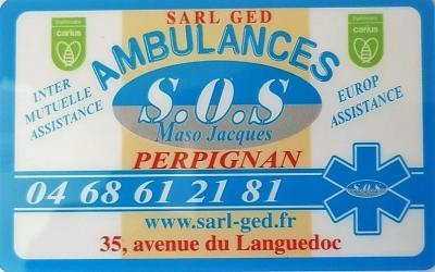 Ambulances SOS Perpignan - Ambulance - Perpignan