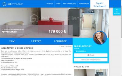 Desplat Muriel Immo - Agent commercial - Vincennes