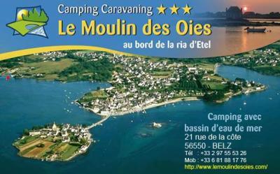 Le Moulin Des Oies - Camping - Belz