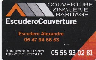Escudero Couverture - Entreprise de couverture - Égletons