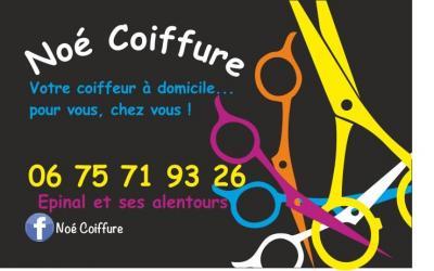Noe Coiffure - Coiffeur à domicile - Épinal