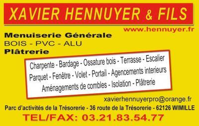 Xavier Hennuyer & Fils - Serrurerie et métallerie - Wimille