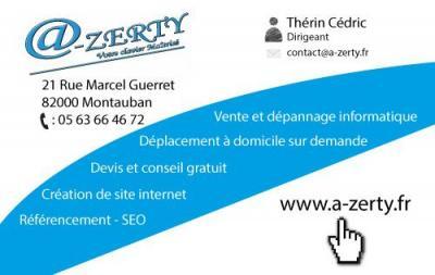 A-Zerty - Dépannage informatique - Montauban