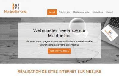Montpellier-Crea - Création de sites internet et hébergement - Montpellier