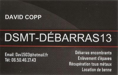 Dsmt-Debarras13 - Déblaiement et débarras - Marseille