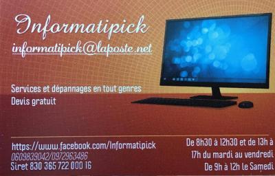 Informatipick - Dépannage informatique - Angers