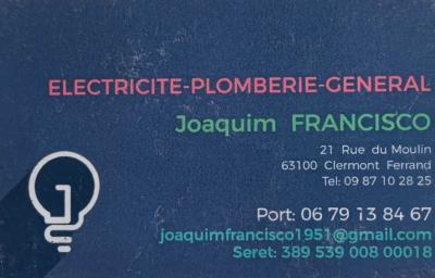 Francisco Joaquim - Vente et installation de salles de bain - Clermont-Ferrand