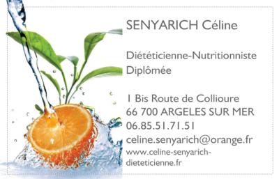 Céline Senyarich - Diététicien - Argelès-sur-Mer