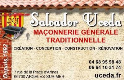 Uceda Salvador - Entreprise de maçonnerie - Argelès-sur-Mer