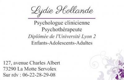 Lydie Hollande - Psychologue - La Motte-Servolex