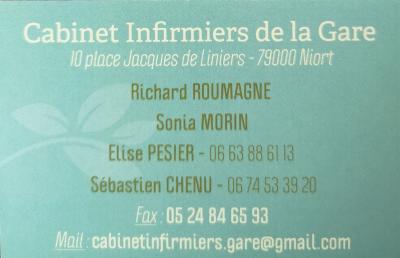 Elise Pesier - Infirmier - Niort