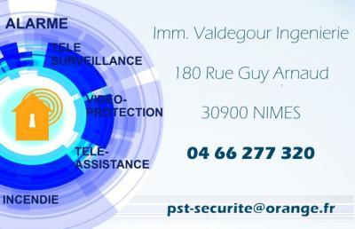 PST Sécurité - Vente d'alarmes et systèmes de surveillance - Nîmes