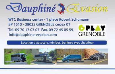 Autocars Dauphiné Evasion - Transport touristique en autocars - Grenoble