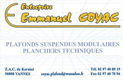 Coyac Emmanuel - Travaux d'isolation - Vannes