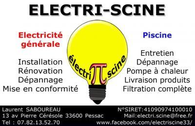 Electri-scine - Entreprise d'électricité générale - Pessac
