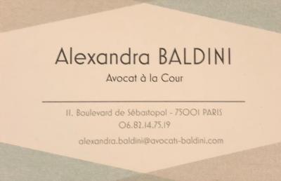 Baldini Alexandra - Avocat - Bastia