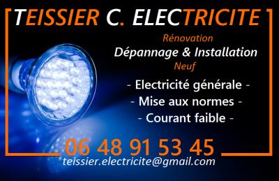 Teissier C Electricité - Entreprise d'électricité générale - Alès