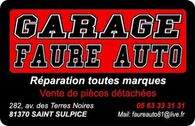 Auto Conseils FAURE AUTO SARL - Garage automobile - Saint-Sulpice-la-Pointe
