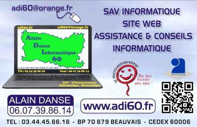Adi60 - Dépannage informatique - Beauvais