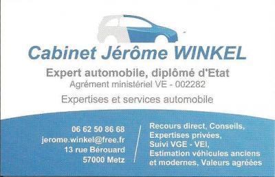 Winkel Jérôme - Expert en automobiles - Metz