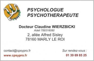 Wierzbicki Claudine - Psychologue - Marly-le-Roi