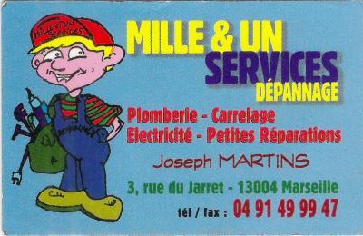 Mille Et Un Services Dépannages - Plombier - Marseille