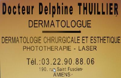Thuillier Delphine - Médecin dermatologue - Amiens