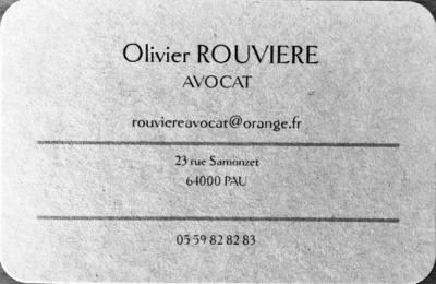 Rouvière Olivier - Avocat - Pau