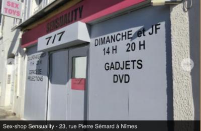 Sensuality - Articles et librairies érotiques - Nîmes