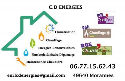 Cd Energies - Plombier - Morannes-sur-Sarthe-Daumeray