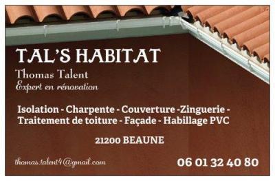 Talent S Habitat - Entreprise de démoussage et de traitement des toitures - Beaune