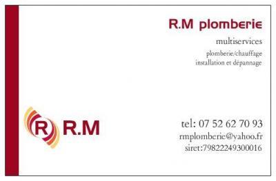 R . M Plomberie - Plombier - Hénin-Beaumont