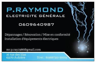 P . Raymond Electricité Générale - Entreprise d'électricité générale - Aubière