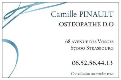 Pinault Camille - Ostéopathe - Strasbourg