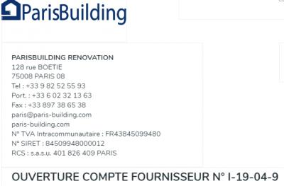 Paris Building Renovation - Entreprise de peinture - Paris