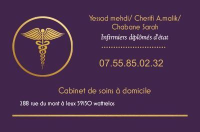 Cabinet infirmier en soin à domicile - Infirmier - Wattrelos