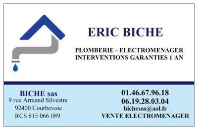 Biche - Plombier - Courbevoie