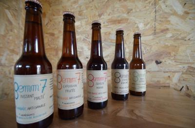 Brasserie artisanale Gemm'7 - Fabrication de boissons - Oradour-sur-Vayres
