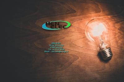 Hen-Elec - Entreprise d'électricité générale - Alençon