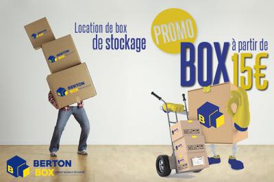 Berton Box - Garde-meubles - Blois