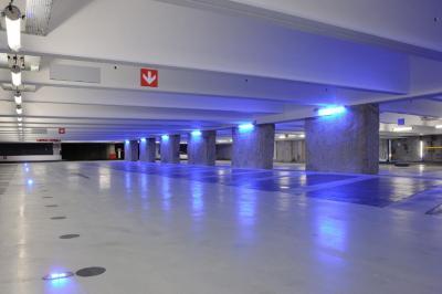 Parking Q-park Perrache - La Confluence - Parking public - Lyon