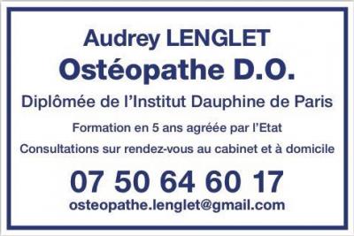 Audrey Lenglet - Ostéopathe - Royan
