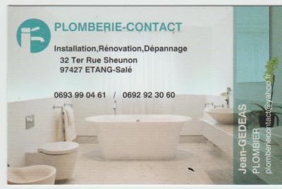 Plomberie Contact - Plombier - L'Etang-Salé