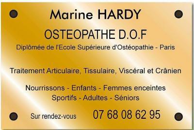 Marine Hardy - Ostéopathe - Antony