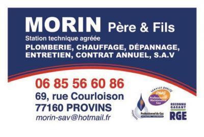 Morin Pere Et Fils - Dépannage de chauffage - Provins