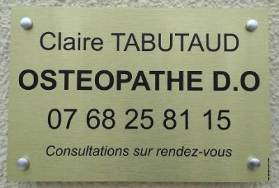 Claire Tabutaud - Ostéopathe - Niort
