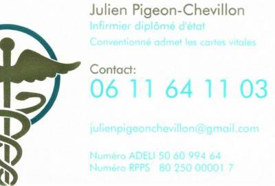 Julien Pigeon Chevillon - Infirmier - Granville
