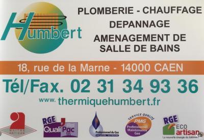Humbert EURL - Plombier - Caen